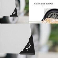 Protetor da porta do carro capa silicone proteção contra acidentes de carro proteção da porta do carro risco acessórios do carro para peugeot 307