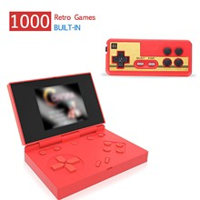 Game-Console Retro Mini Portable Handle Color-Game-Player 1000-Games with LCD Built-In