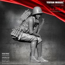 Набор фигурок из полимера 1/35 модель yufan Женская скаутская