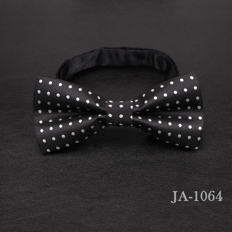 Дизайнерский галстук-бабочка, высокое качество, мода, мужская рубашка, аксессуары, темно-синий, в горошек, галстук-бабочка для свадьбы, для мужчин,, вечерние, деловые, официальные - Цвет: 1064