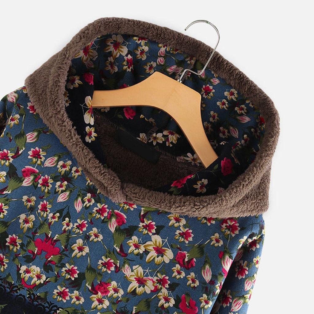 Had7a72769698448ea97e017d830d9e58u Female Jacket Plush Coat Womens Windbreaker Winter Warm Outwear Retro Print Hooded Pockets Vintage Oversize Coats Plus Size 5XL