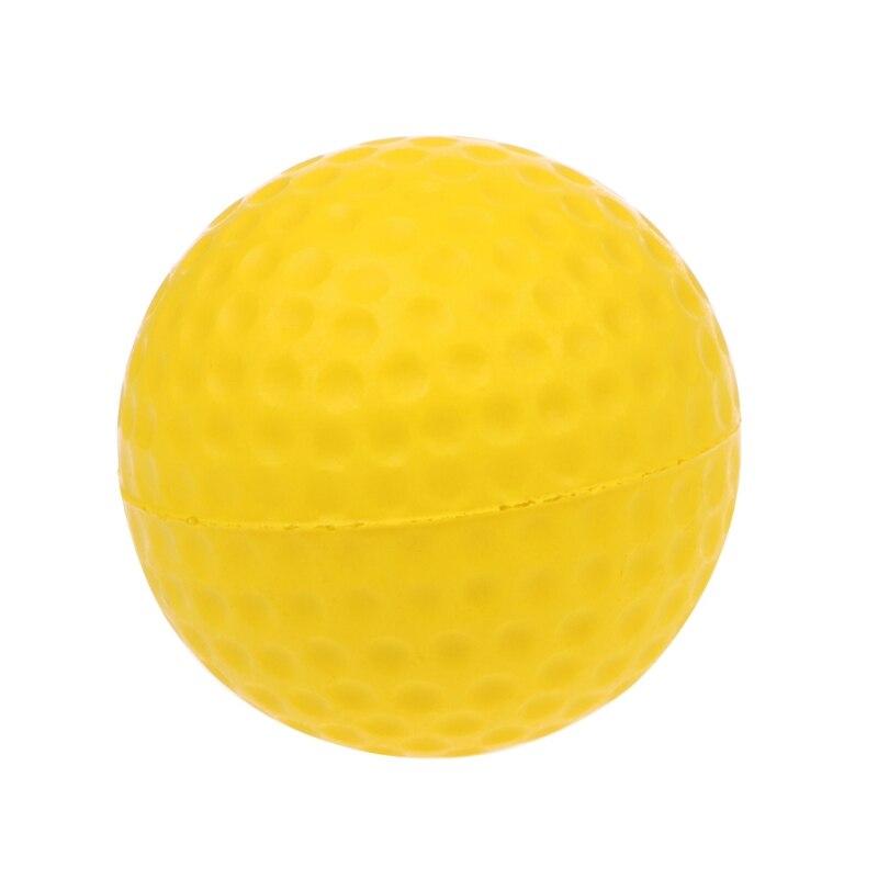 Yellow Foam Golf Ball Golf Training Soft Foam Balls Practice Ball 87HF