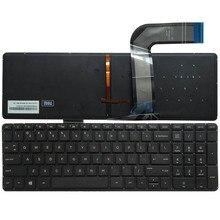 NEW FOR HP Pavilion ENVY 15-K 15-K000 15-K100 15-k200 US English laptop Keyboard Black with backlight