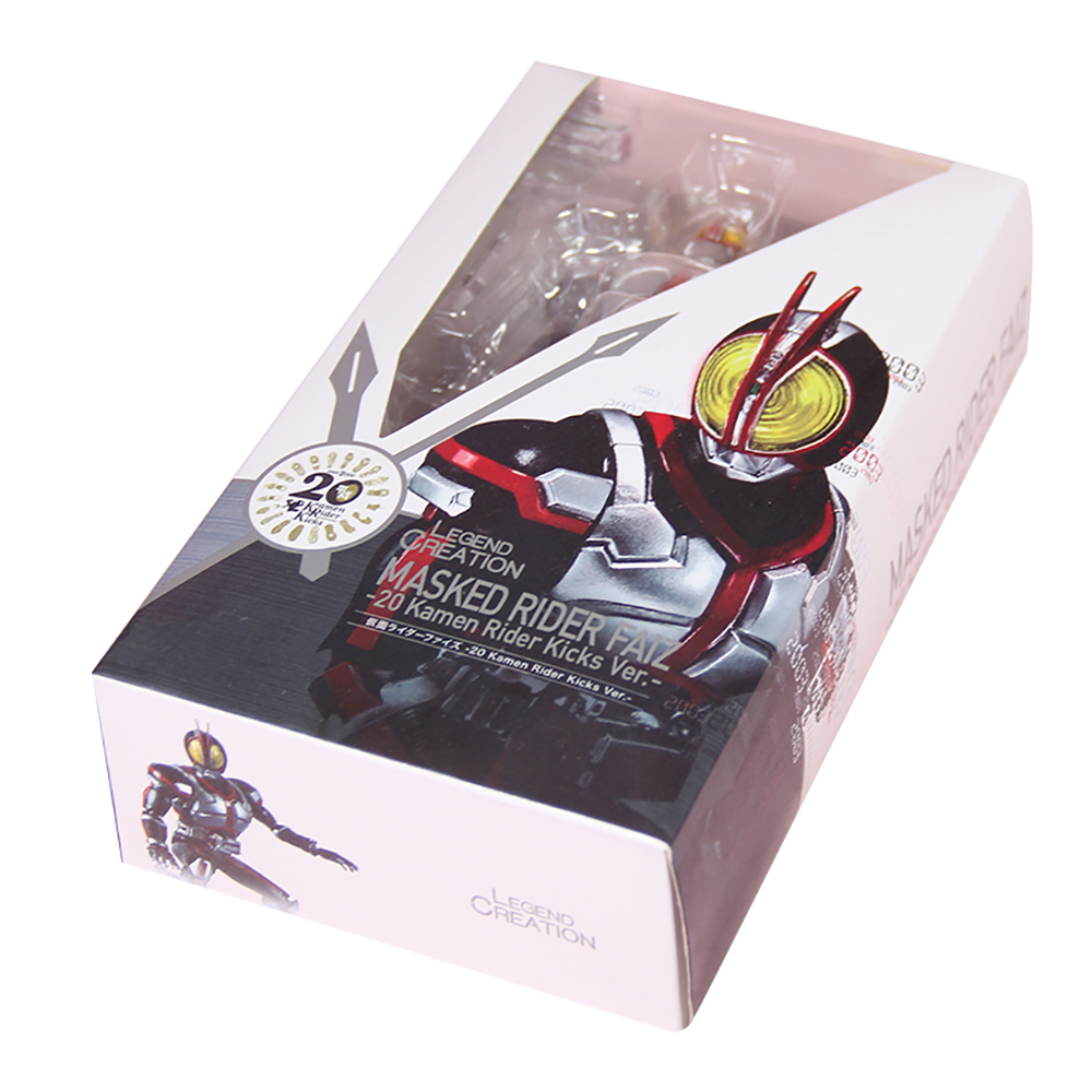 Image 5 - Masked Rider 555 20th anniversary Kamen Rider Faiz Action Figure Model Toys PVC 15CM Collection Gifts Desktop DecorationAction & Toy Figures   -