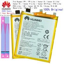 Bateria Do Telefone de Substituição para Huawei Hua Wei P9 P10 Lite Honra 8 9 Lite 9i 5C 7C 7A Desfrutar 7S 8 8E Nova Lite 3E GT3 HB366481ECW