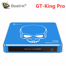 Beelink GT-King Pro Smart TV BOX Amlogic S922X-H Android 9.0 4GB DDR4 64GB 2.4GHz + 5GHz WiFi Bluetooth 4.1 TV Box Support 4K(China)