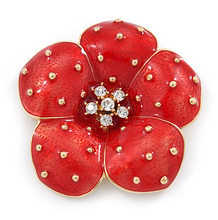 Poppy Bros Pin Merah Tetes Minyak Pengeboran Air Poppy Poppy Bros(China)