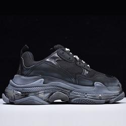 Мужские и женские кроссовки Triple s; теннисные кроссовки; zapatos de mujer zapatillas hombre de hombre chaussures femme buty meski