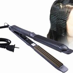 Funkcja prostowania kręcenie loków lokówka do włosów Roller prostownica elektryczna szybka nagrzewnica lokówka do włosów falista stylizacja