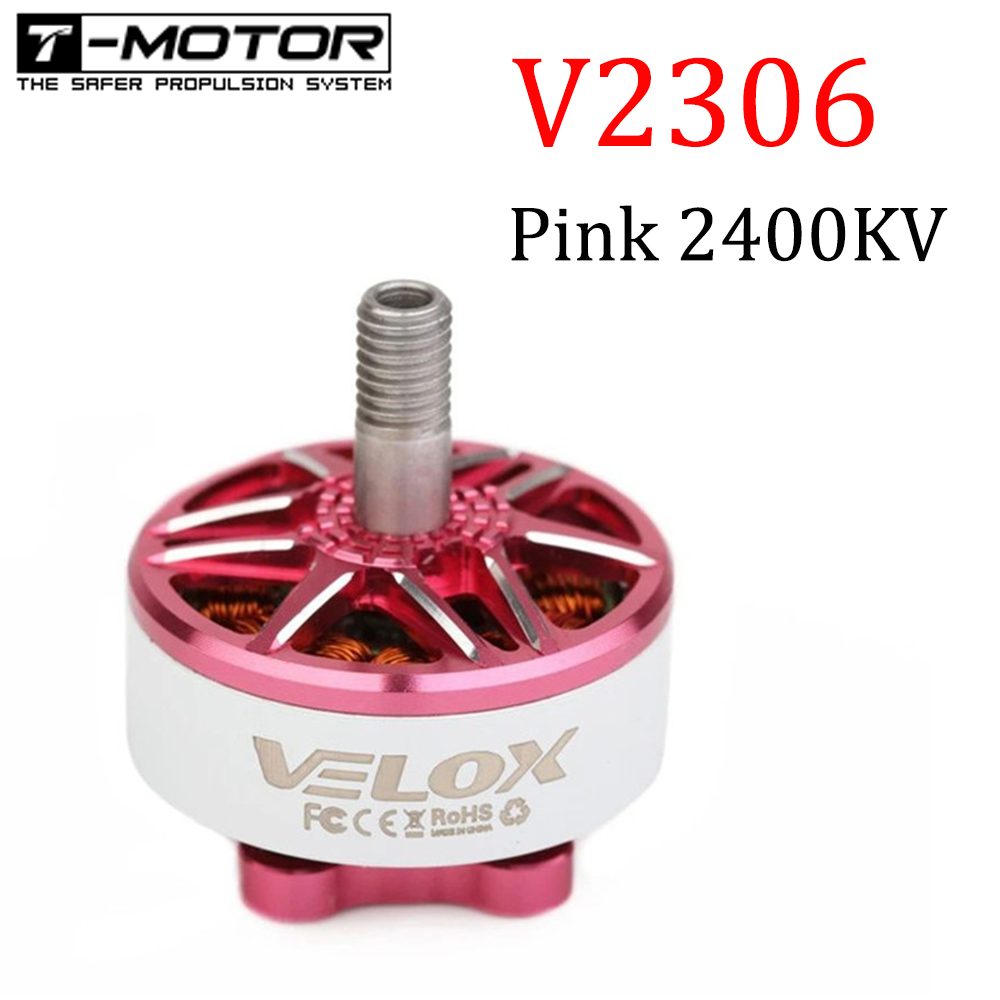 4PCS T-Motor VELOX V2306 <font><b>2306</b></font> 2400KV 2-4S Brushless Motor for RC Drone FPV Racing RC Quadcopter Multicopter RC Parts Spare Parts image