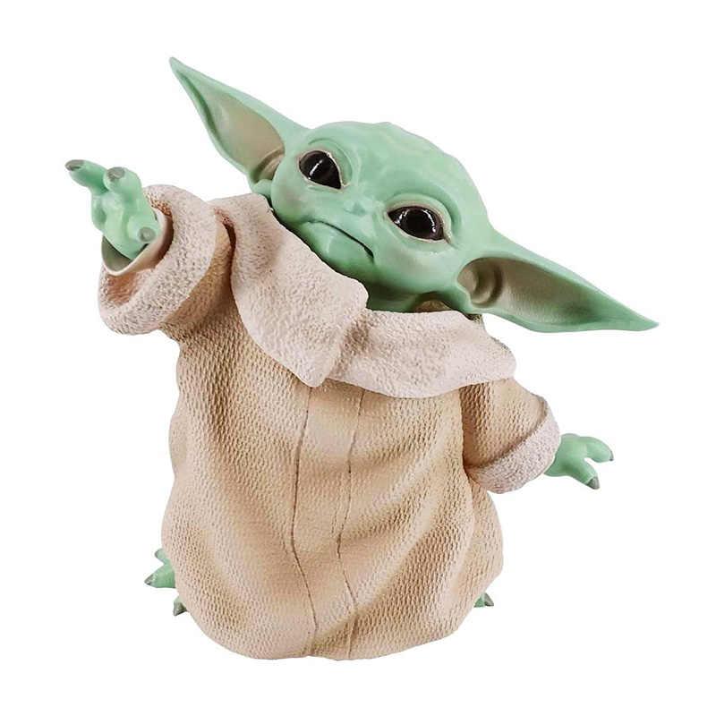 8 سنتيمتر حرب النجوم الطفل يودا جمع عمل الشكل لعبة بولي كلوريد الفينيل مصغرة اللعب دمية هدية لعيد الأطفال