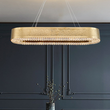 Modern Gold Crystal Chandelier Lights For Dining Room hanging Lamp Home Indoor Lighting fixture luxury led suspension wire lamps modern led chandelier restaurant lighting fixtures nordic hanging lights dining room suspension luminaire home suspended lamp