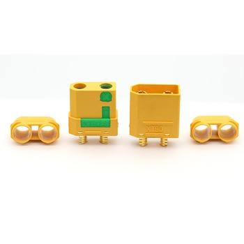 Conectores AMASS XT90S 90A, anti chispa, adaptador macho hembra para baterías de litio, Lipo, li-ion, LiFePO4, XT90-S 2