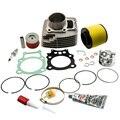 Цилиндр Поршень Прокладка верхний конец комплект для Honda Rancher TRX350 trx 350 2001-2006 12100-HN5-670  13101-HN5-670  13010-HN5-671