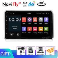 8'' Andorid9.0 Universal Car GPS Navigation Car Stereo Bluetooth Radio Audio Player FM RDS Car Multimedia Player wifi BT mic