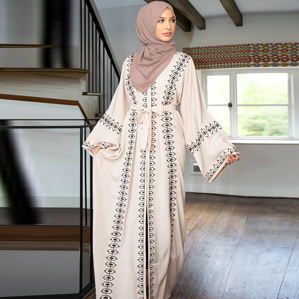 Ramadan Eid Mubarak Abaya Turkey Kimono Hijab Muslim Dress Islamic Clothing For Women Dubai Kaftan Ropa Musulmana Para Mujer