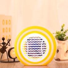 Электрический фотокатализатор, противомоскитная лампа, светодиодный репеллентный светильник, электронные ударные лампы, желтый+ белый, для младенцев, для дома, 4 Вт
