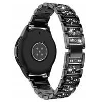 Band Compatible with Samsung Galaxy Watch active 2 44mm 40mm Bands 20mm Stainless Steel Bracelet Strap for Galaxy Watch active2