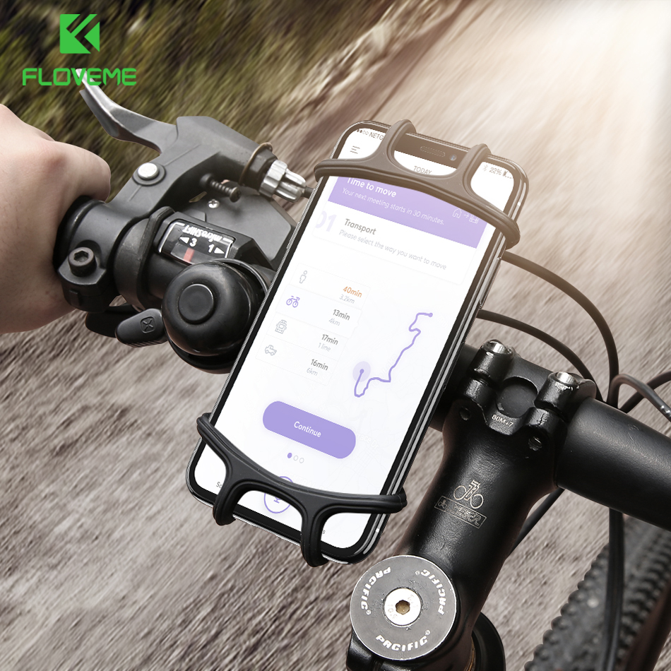FLOVEME <font><b>Bike</b></font> <font><b>Phone</b></font> <font><b>Holder</b></font> For <font><b>iPhone</b></font> XS Max XR XS <font><b>8</b></font> 7 <font><b>Plus</b></font> 6 <font><b>Plus</b></font> 6 S Mount Bicycle <font><b>Holder</b></font> For Samsung S10 For Redmi Note 7 Hold image