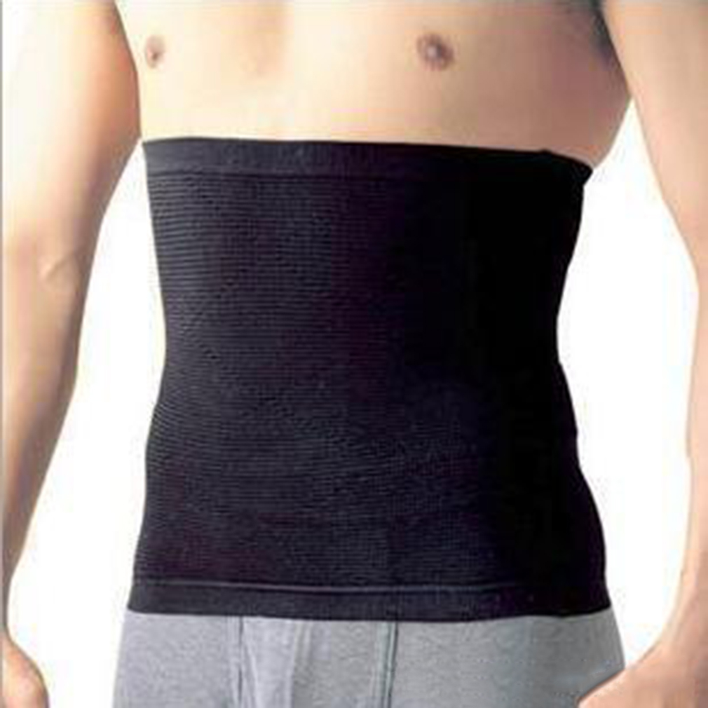 Stylish Men Male Waist Cincher Slimming Body Training Exercise Belt Tummy Cincher Corset Stomach Body Shapers Men Belly Slim