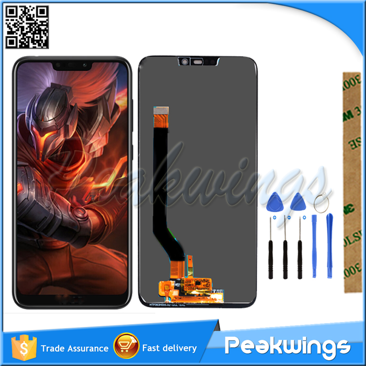 Yuan Tetsed LCD For Huawei <font><b>Honor</b></font> <font><b>8C</b></font> LCD <font><b>Display</b></font> <font><b>With</b></font> <font><b>Touch</b></font> <font><b>Screen</b></font> Assembly For <font><b>Honor</b></font> Paly <font><b>8C</b></font> BKK-AL10 BKK-L21 LCD image