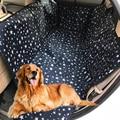 Чехол на автомобильное сиденье для домашних животных, переноска с узором лапы, водонепроницаемая Защитная накидка на заднее сиденье автомо...