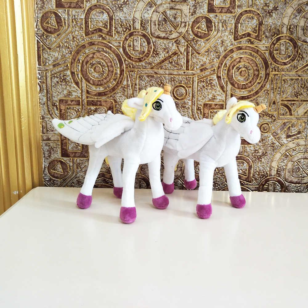 BOLAFYNIA çocuk peluş doldurulmuş oyuncak mia ve me unicorn at bebek bebek çocuklar oyuncak için noel doğum günü hediyesi