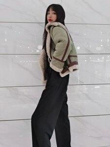 Image 2 - معطف فرو حقيقي شتوي من OFTBUY موضة 2020 للنساء ، معطف فرو امبسوول حقيقي طبيعي ، ملابس خارجية من الجلد السميك الدافئ