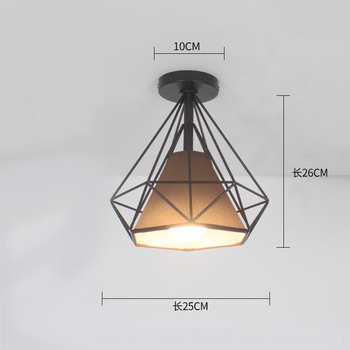 Ceiling light ceiling lamp iron living room lights modern deco salon for dining room hanging led light fixtures surface mounted 17