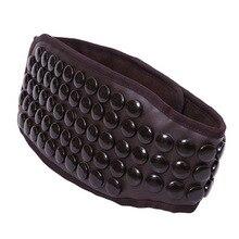 Cinturón de piedra de germanio ms tomalin fever cinturón calentador eléctrico lumbar cálido Palacio estomacal caliente para aliviar el dolor de espalda