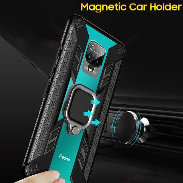 Per la Nota Redmi 9S 8 Pro Caso per Caso Xiaomi Redmi Nota 7 8T K20 K30 Magnetica Supporto per Auto per il caso di Xiaomi Mi Nota 10 PRo 9T 8 A3 Lite 3
