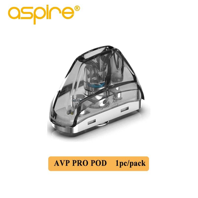 Aspire AVP Pro Vape Pod 4.0ml Cartridge Electronic Cigarette Tank Atomizer Fits 1.15ohm Mesh Coil 0.65ohm For AVP Pro Kit Vaper