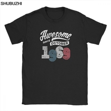 Awesome Since October 1969 T Shirt PU27