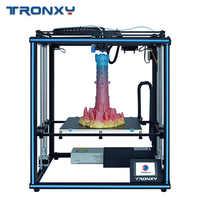 Tronxy 2019 nuevo actualizado X5SA 24V 3D impresora CoreXY DIY Kits Placa de construcción de Metal 330*330mm mesa de calor 3d máquina Sensor de filamento