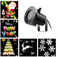 Outdoor waterproof LED Laser projector Lamps 12 Types Christmas stage lights New Year party landscape Lights Lawn light