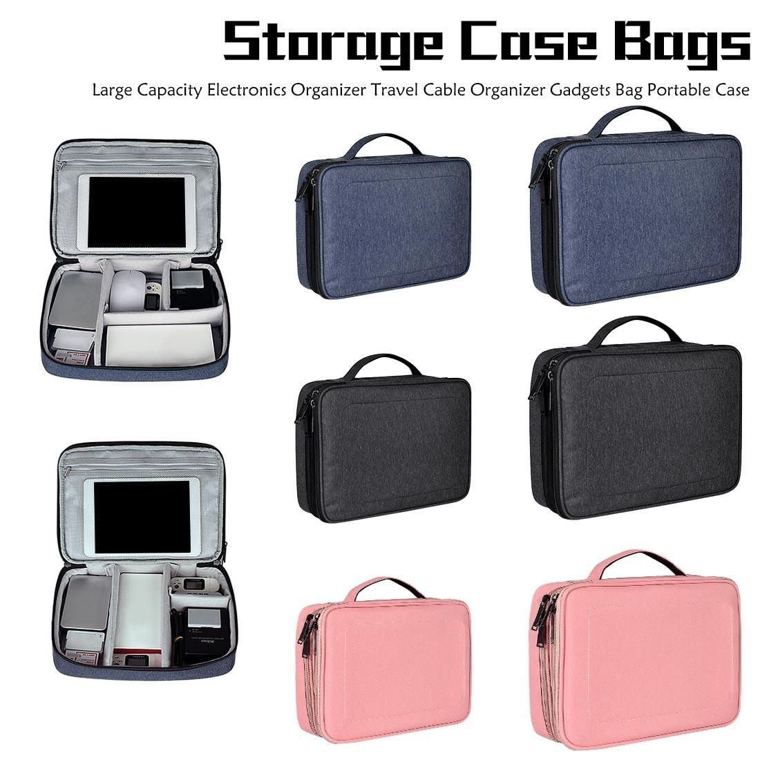 Storage Bag Travel Cable Organizer