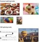 4K Hd 2X3 Hdmi Video Wall Controller Usb Speler Muis Toetsenbord Kvm Processor Tv Scherm Splicing 3X3 2X2 Led Display Groot Scherm - 5