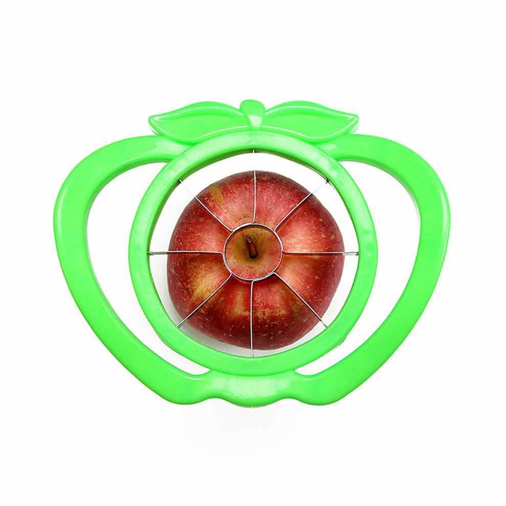 Cortador de fruta, manzana, pera de acero inoxidable, cortador fácil de cortar, pelador, cortador de fruta, multifuncional, respetuoso con el medio ambiente, fácil de limpiar