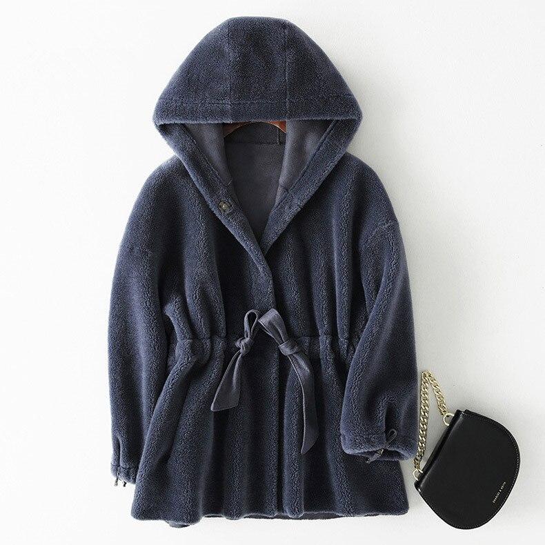 Aorice Women's Winter Warm 30% Wool Fur Jacket Coat Lady Girl  Jackets Over Size Parkas B181169