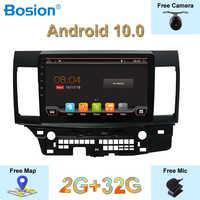 10,1 inch IPS 2,5 Bildschirm Autoradio 2G + 32G Für Mitsubishi Lancer 2006-2016 Android 10.0 Kostenloser Externe mic Kamera Canbus Karte