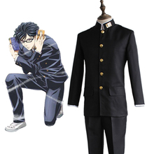 Anime Haven't You Heard I'm Sakamoto Cosplay Costumes Sakamoto Cosplay Costume Halloween Party Sakamoto Desu Ga Cosplay Uniforms