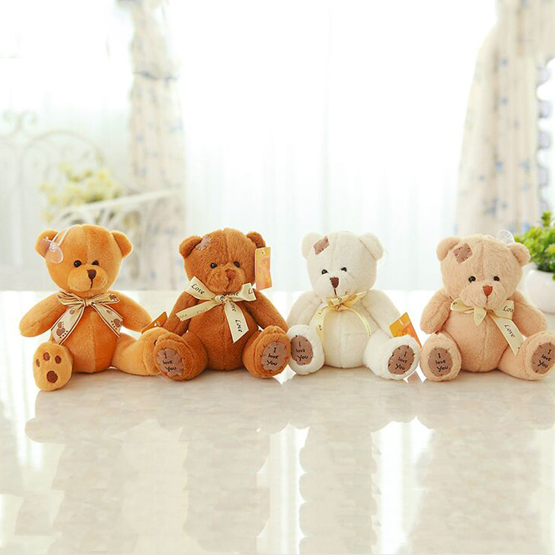 20cm Patch Bear Dolls Teddy Bear Soft Toy Bear Wedding Gifts Baby Toy Birthday Gift Brinquedos Soft Toys