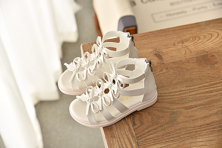 Summer Bow Princess sandals 19