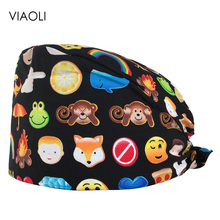 Pet Veterinary Surgical Cap Medical Work Caps nurse Hats pharmacy Adjustable Sweatband Oral cavity Dental Clinic Hats doctor hat 2016 medical clothing suit womens surgical caps scrub for dental clinic doctors 100% cotton adjustable back working cap alx 144