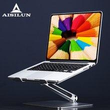 Подставка для ноутбука, кронштейн из алюминиевого сплава с регулируемым углом, для Macbook Air, аксессуары для ноутбука 7-16 дюймов
