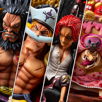 Genuine One Piece War on the Top Edward Newgate Charlotte Linlin Kaido Shanks collection toys action pvc anime figures no box