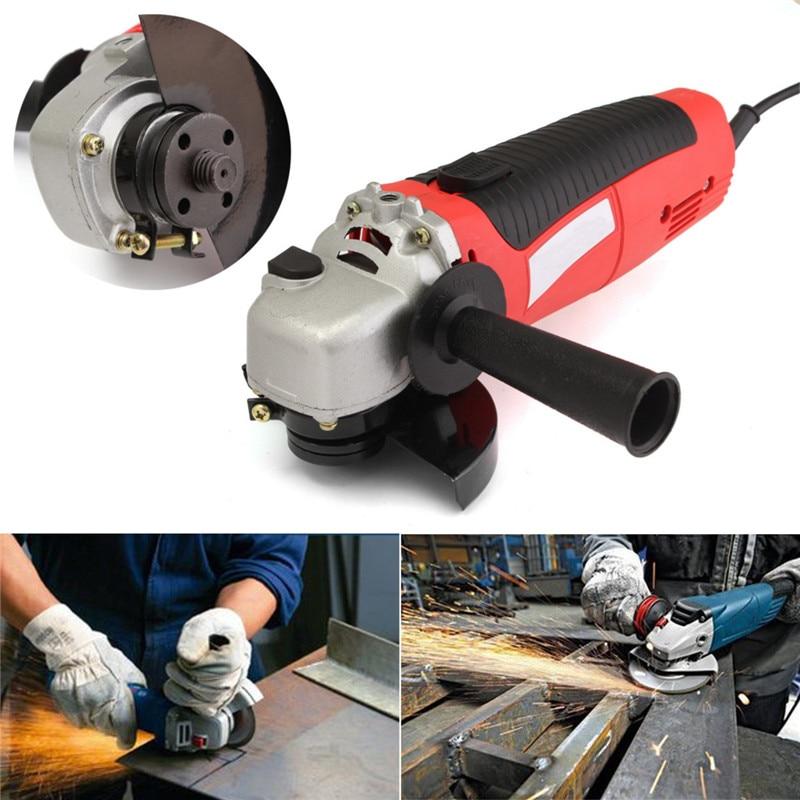 1600W Electric Angle Grinder Heavy Duty Cutting Polishing Sanding Grinding 220V