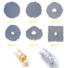 8 шт набор формочек для горки нестандартная форма геодезии Золотая