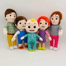 Toy Cocomelon Jj Dall Plush-Toy Gift Chritmas Sister Family Kids Cartoon Mom Dad 15-33cm