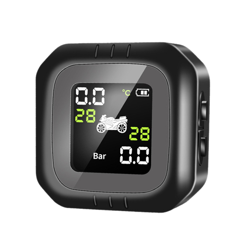 Waterproof and Shockproof Color Screen Display Motorcycle Tire Pressure Monitor Tire Pressure Tire Temperature Display Alarm Rem|Tire Pressure Monitor Systems| |  - title=